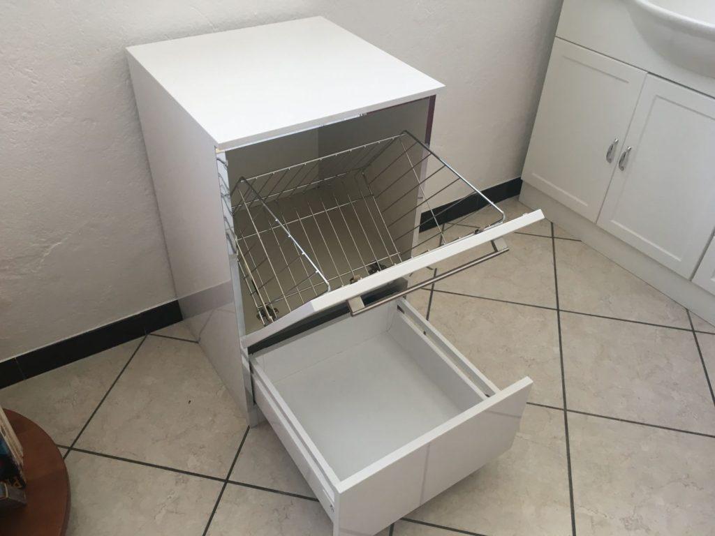 Mobile per bagno offerta 350 pasquini arredamenti - Mobile bagno con portabiancheria ...